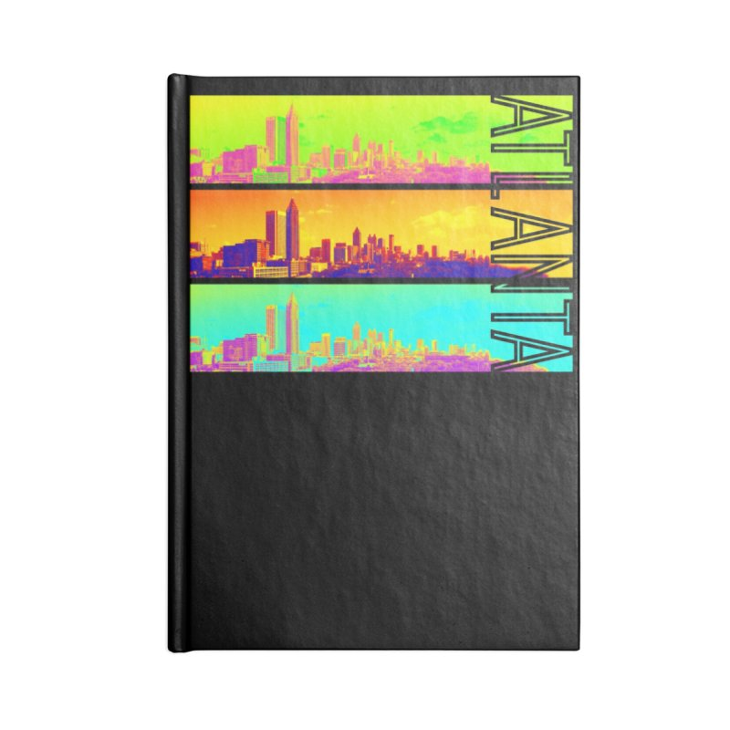 Atlanta colors Accessories Lined Journal Notebook by Andrea Garrido V - Shop