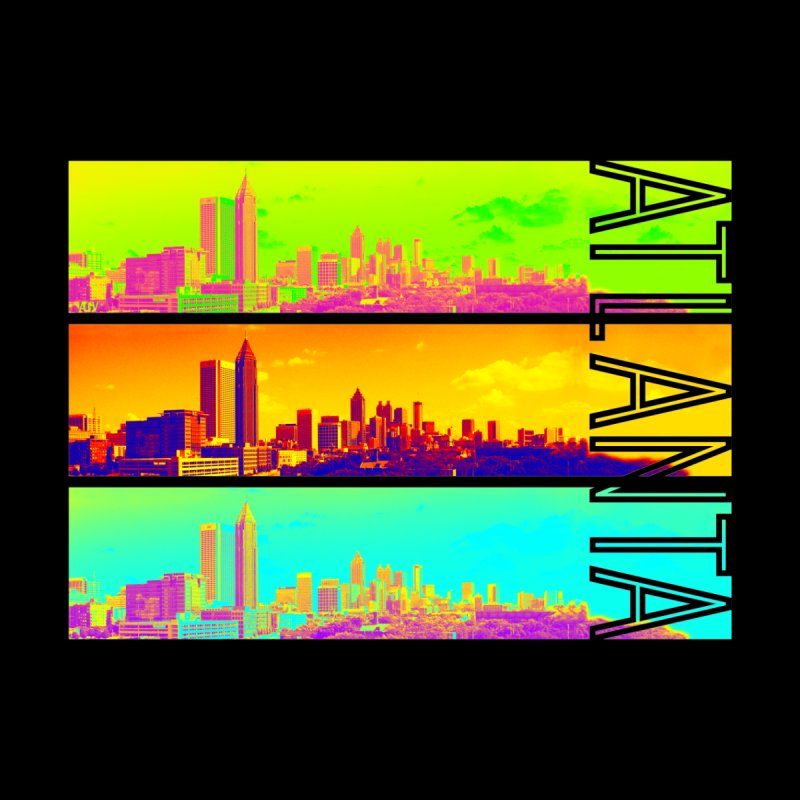 Atlanta colors Home Stretched Canvas by Andrea Garrido V - Shop