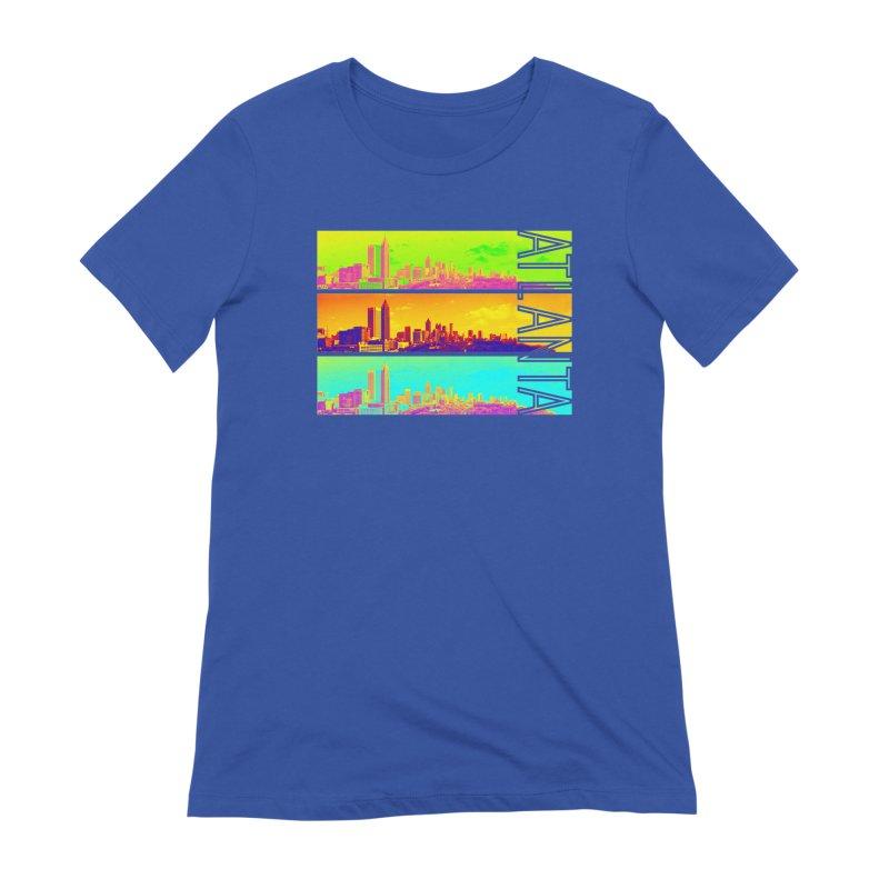 Atlanta colors Women's Extra Soft T-Shirt by Andrea Garrido V - Shop