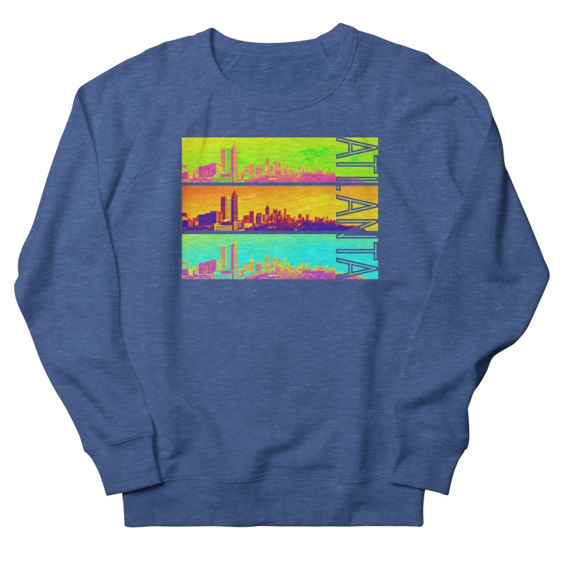 Atlanta colors Men's Sweatshirt by Andrea Garrido V - Shop