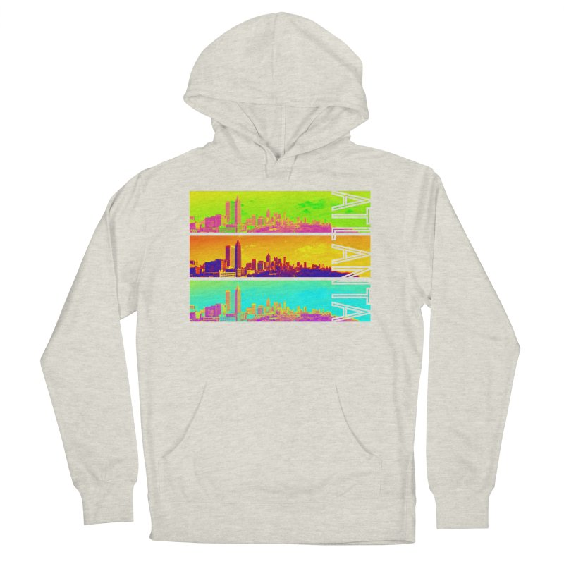 Atlanta colors Women's French Terry Pullover Hoody by Andrea Garrido V - Shop