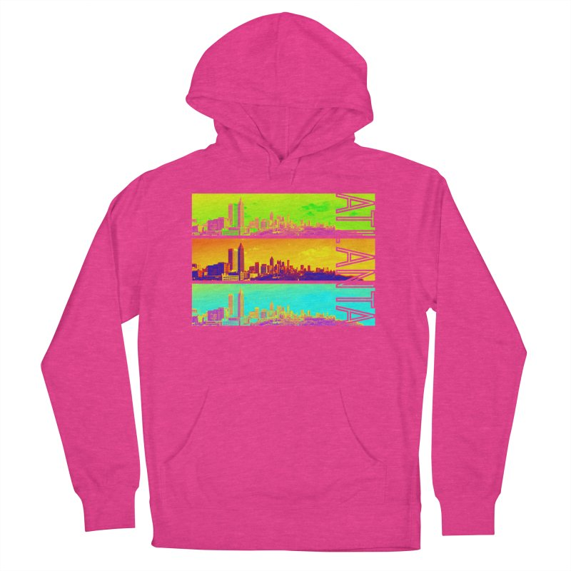 Atlanta colors Men's French Terry Pullover Hoody by Andrea Garrido V - Shop