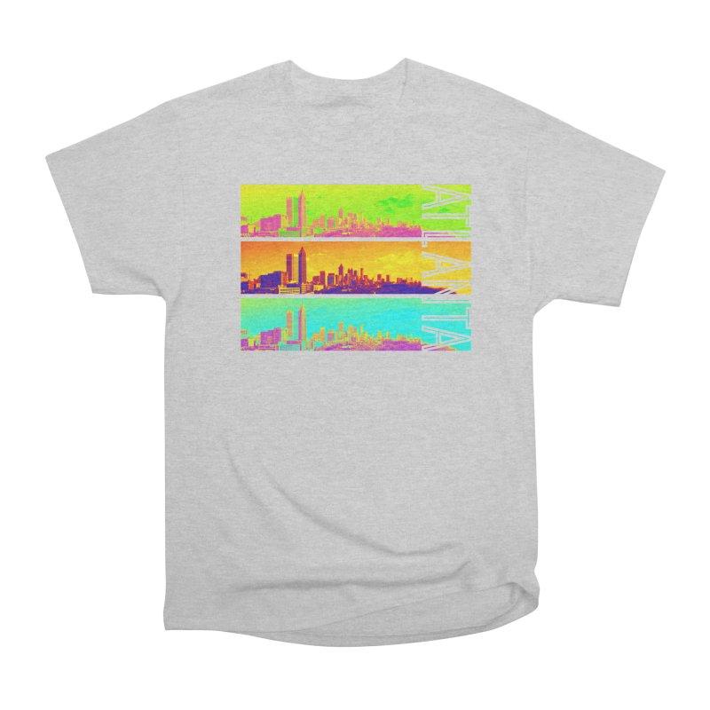 Atlanta colors Women's Heavyweight Unisex T-Shirt by Andrea Garrido V - Shop