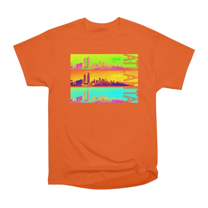 Atlanta colors Men's Heavyweight T-Shirt by Andrea Garrido V - Shop