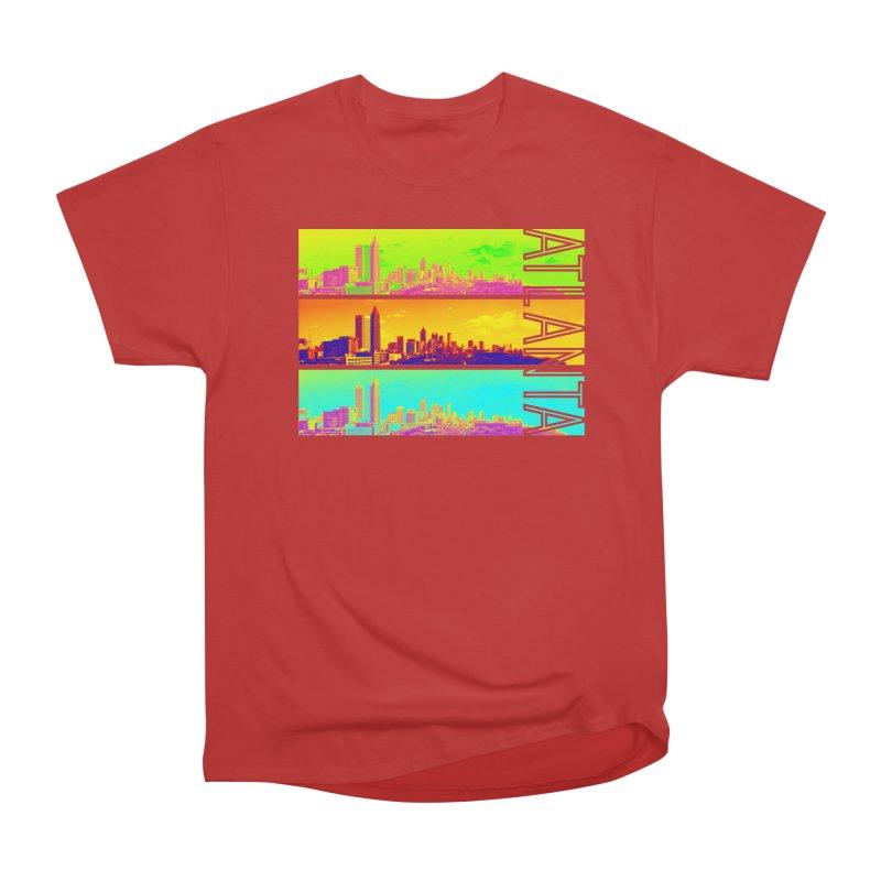 Atlanta colors Men's Heavyweight T-Shirt by Andrea Garrido V - Shop