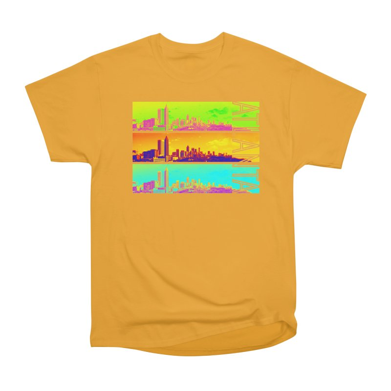 Atlanta colors Women's Heavyweight Unisex T-Shirt by Andrea Garrido V - Shop