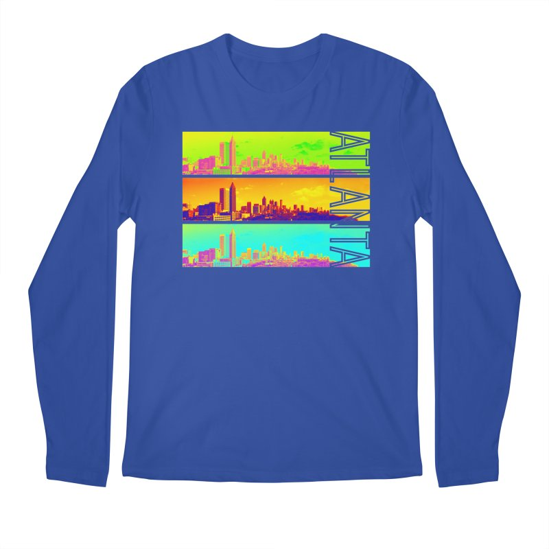 Atlanta colors Men's Regular Longsleeve T-Shirt by Andrea Garrido V - Shop