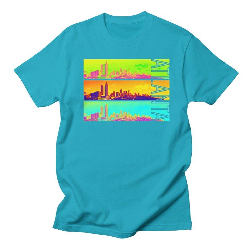 Atlanta colors Women's Regular Unisex T-Shirt by Andrea Garrido V - Shop