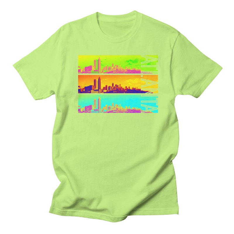 Atlanta colors Women's Regular Unisex T-Shirt by Andrea Garrido V - Shop