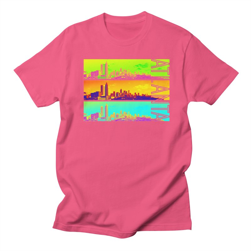 Atlanta colors Men's Regular T-Shirt by Andrea Garrido V - Shop