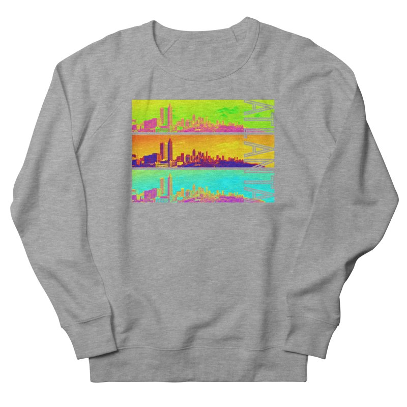 Atlanta colors Women's French Terry Sweatshirt by Andrea Garrido V - Shop