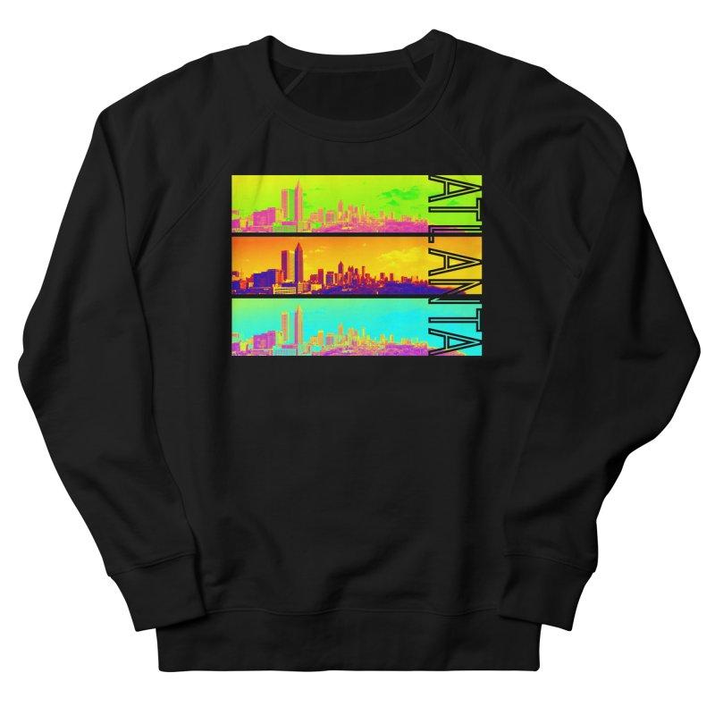Atlanta colors Women's French Terry Sweatshirt by Andrea Garrido V - Shop