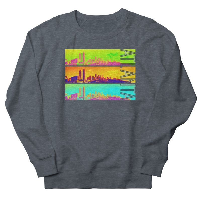 Atlanta colors Men's French Terry Sweatshirt by Andrea Garrido V - Shop