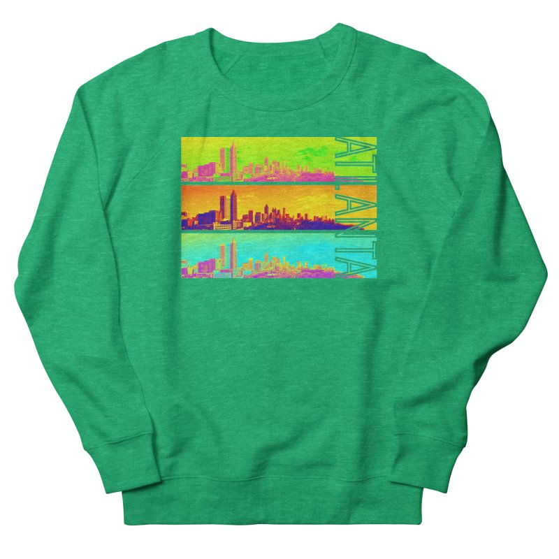 Atlanta colors Men's French Terry Sweatshirt by Andrea Garrido V - Shop