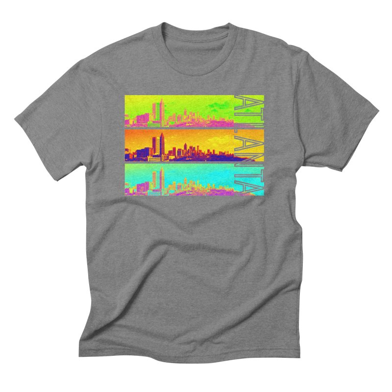 Atlanta colors Men's Triblend T-Shirt by Andrea Garrido V - Shop