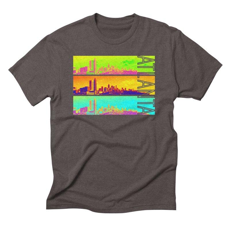 Atlanta colors Men's Triblend T-Shirt by Andrea Garrido V - Shop
