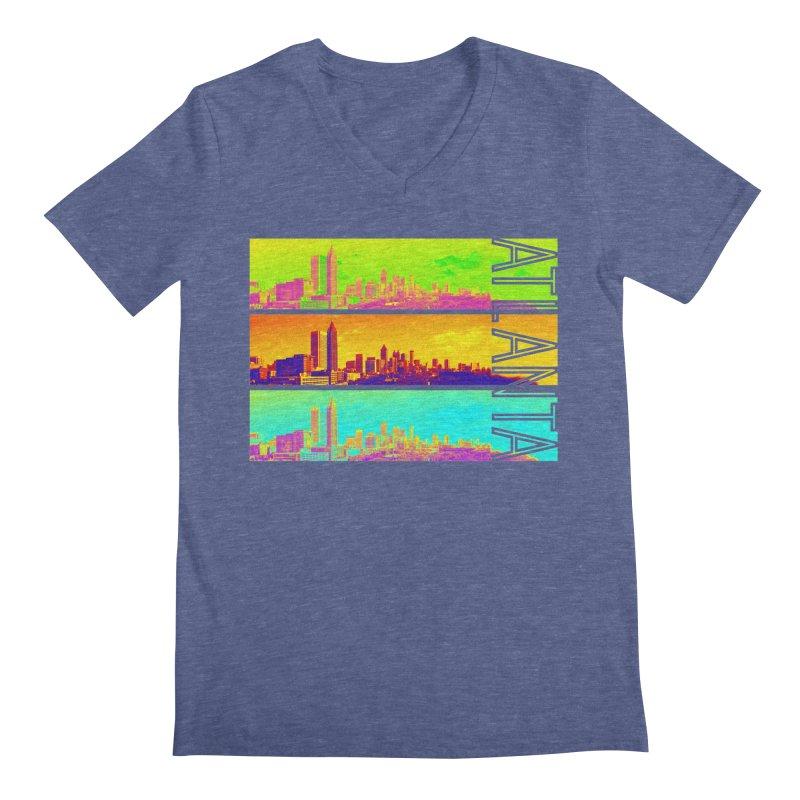 Atlanta colors Men's Regular V-Neck by Andrea Garrido V - Shop