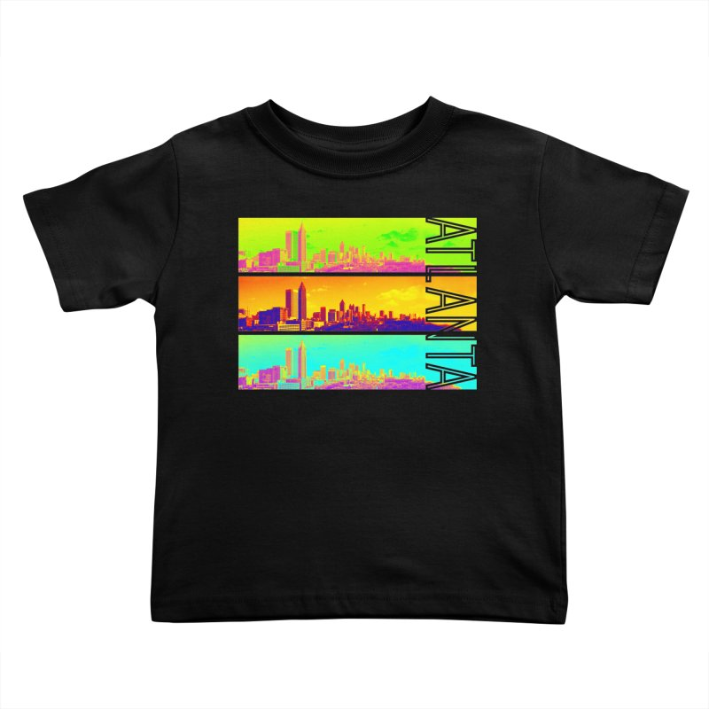 Atlanta colors Kids Toddler T-Shirt by Andrea Garrido V - Shop