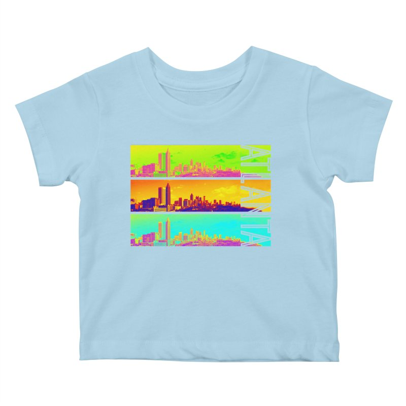 Atlanta colors Kids Baby T-Shirt by Andrea Garrido V - Shop