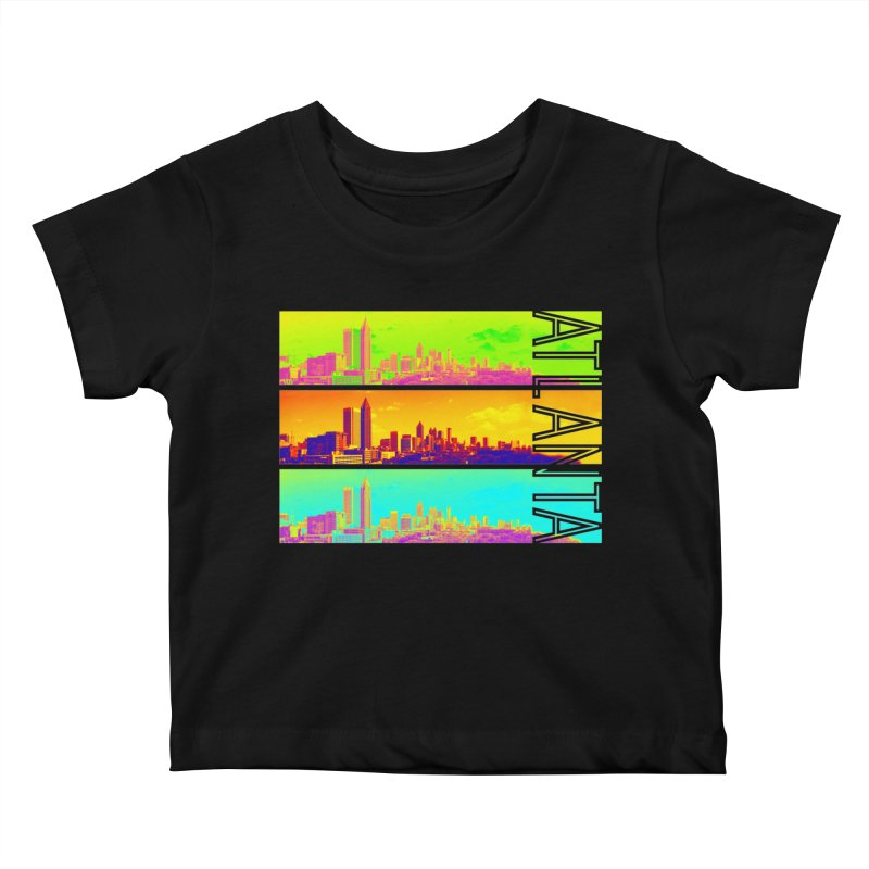 Atlanta colors Kids Baby T-Shirt by Andrea Garrido V - Shop