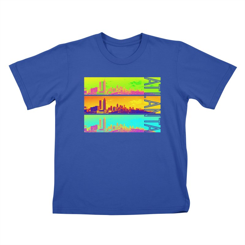 Atlanta colors Kids T-Shirt by Andrea Garrido V - Shop