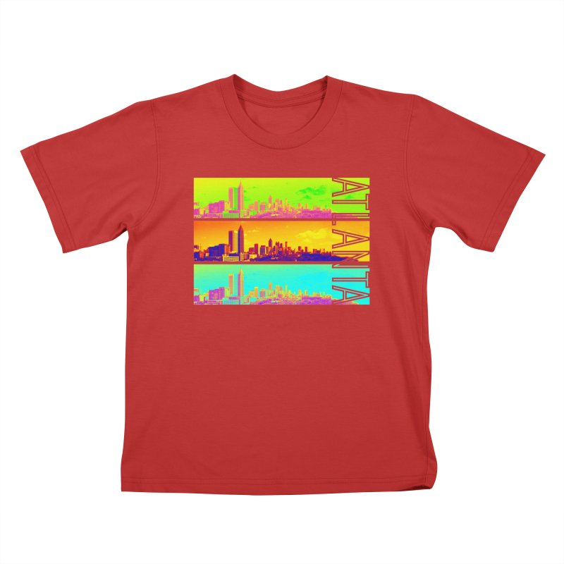 Atlanta colors Kids T-Shirt by Andrea Garrido V - Shop