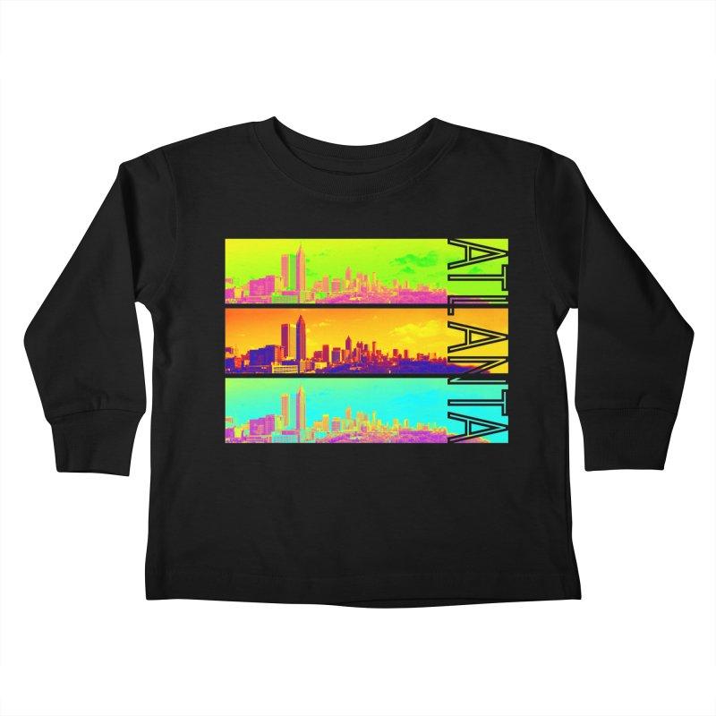 Atlanta colors Kids Toddler Longsleeve T-Shirt by Andrea Garrido V - Shop
