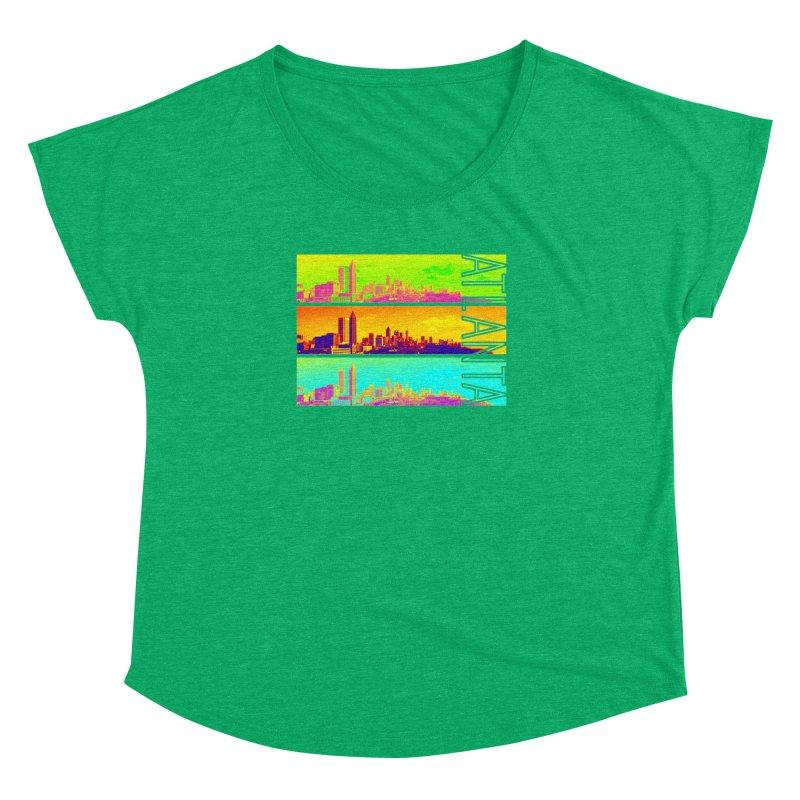 Atlanta colors Women's Dolman Scoop Neck by Andrea Garrido V - Shop