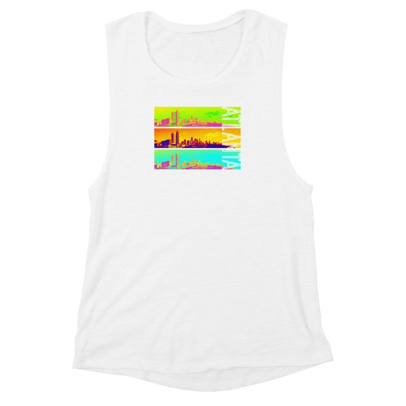 Atlanta colors Women's Muscle Tank by Andrea Garrido V - Shop