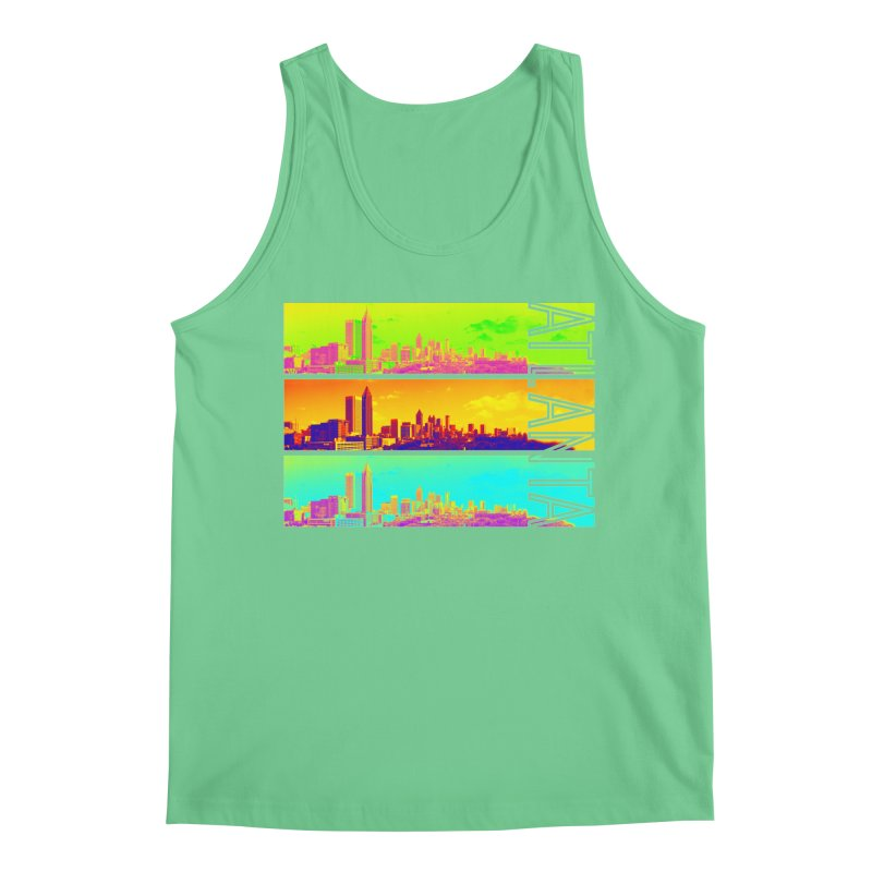Atlanta colors Men's Regular Tank by Andrea Garrido V - Shop