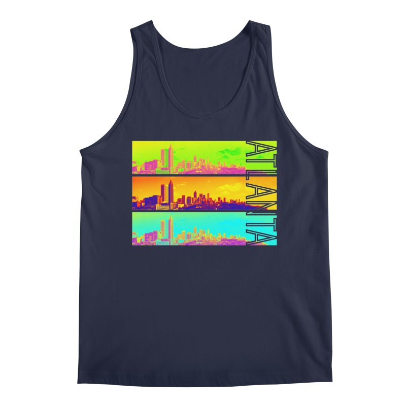 Atlanta colors Men's Regular Tank by Andrea Garrido V - Shop