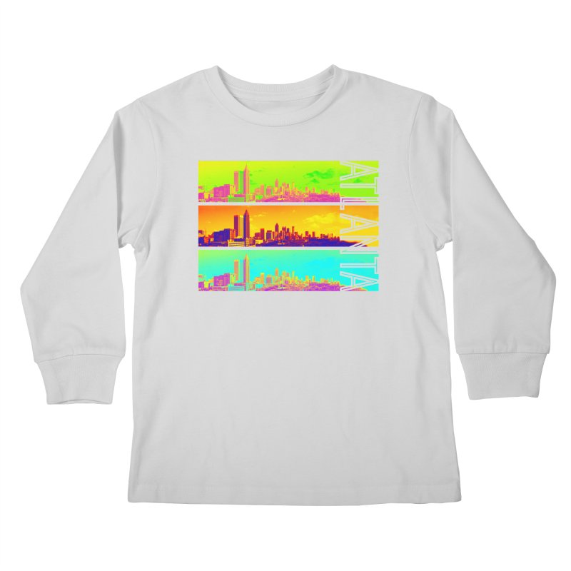 Atlanta colors Kids Longsleeve T-Shirt by Andrea Garrido V - Shop