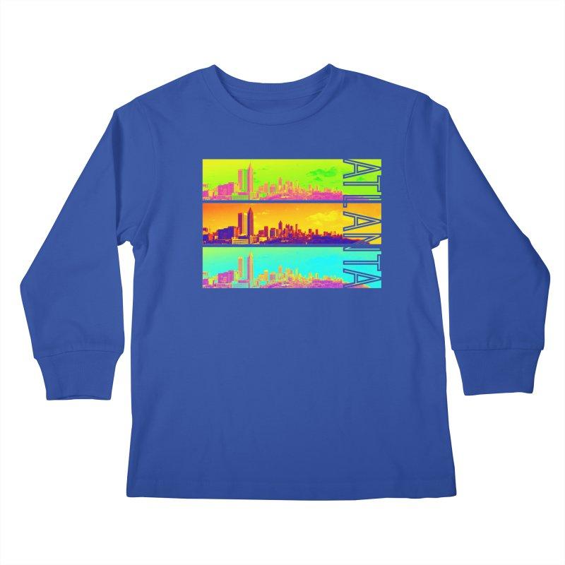 Atlanta colors Kids Longsleeve T-Shirt by Andrea Garrido V - Shop