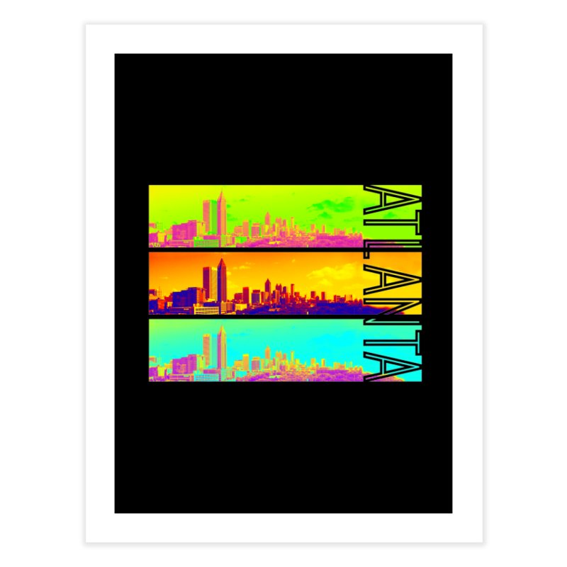 Atlanta colors Home Fine Art Print by Andrea Garrido V - Shop