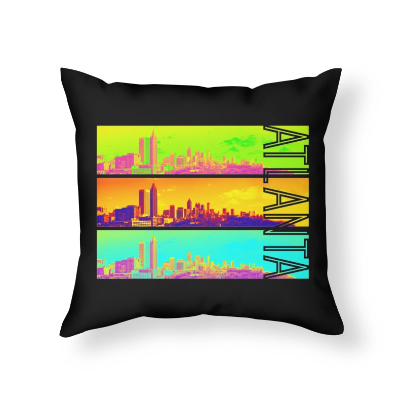 Atlanta colors Home Throw Pillow by Andrea Garrido V - Shop