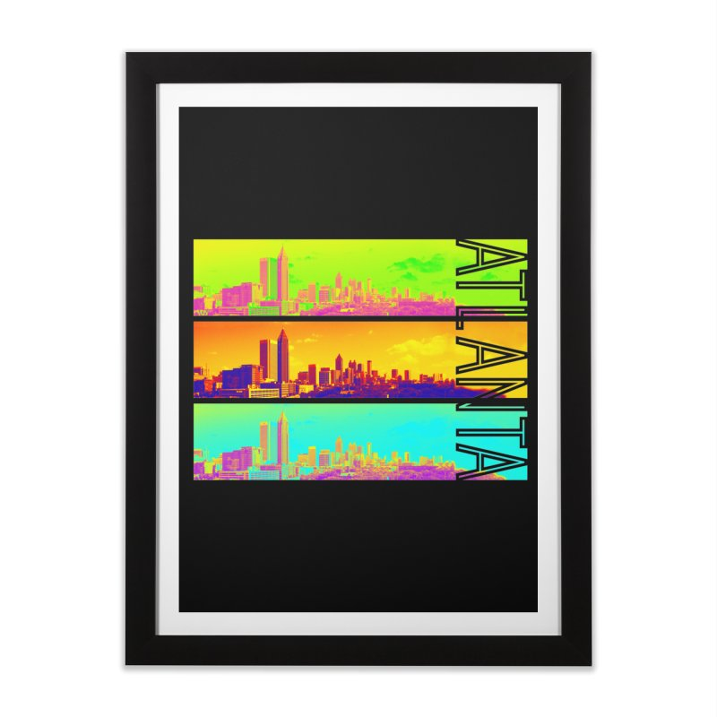 Atlanta colors Home Framed Fine Art Print by Andrea Garrido V - Shop