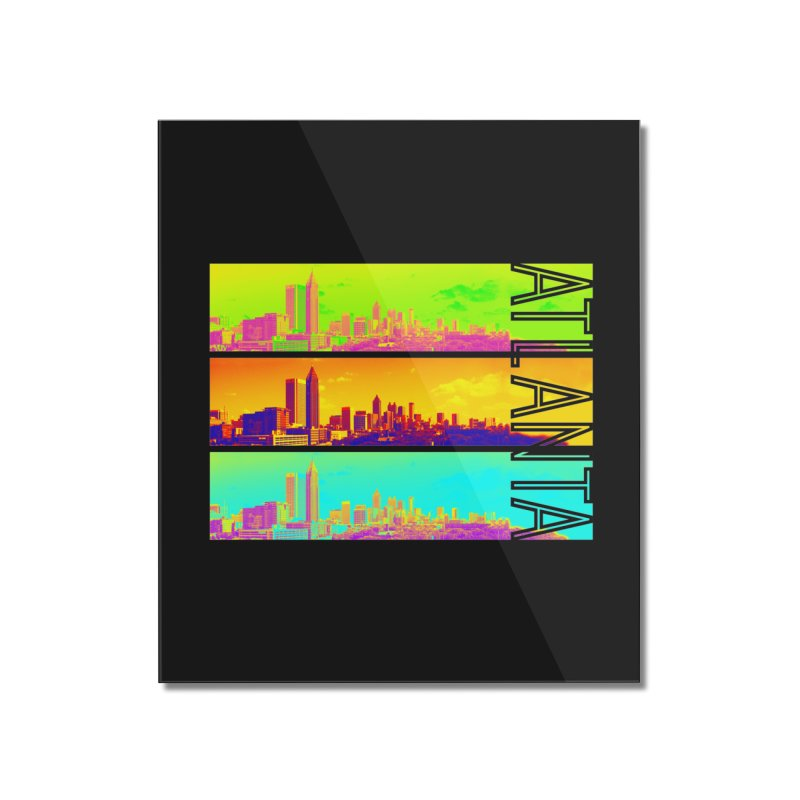 Atlanta colors Home Mounted Acrylic Print by Andrea Garrido V - Shop