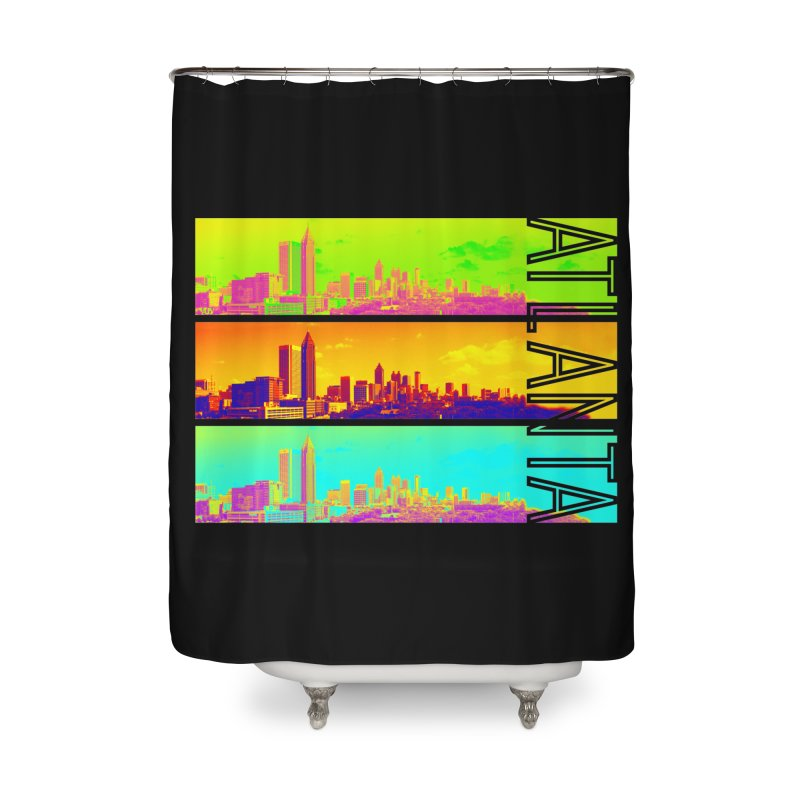 Atlanta colors Home Shower Curtain by Andrea Garrido V - Shop