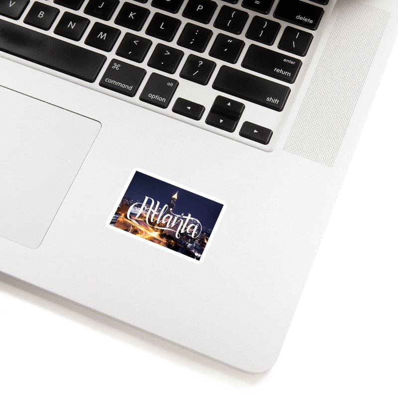 Oh Atlanta! Accessories Sticker by Andrea Garrido V - Shop