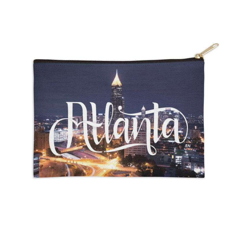 Oh Atlanta! Accessories Zip Pouch by Andrea Garrido V - Shop
