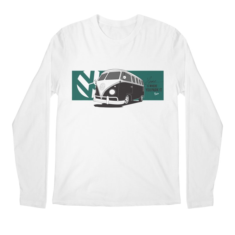Home Is Where You Park It Men's Longsleeve T-Shirt by Andrea Pacini