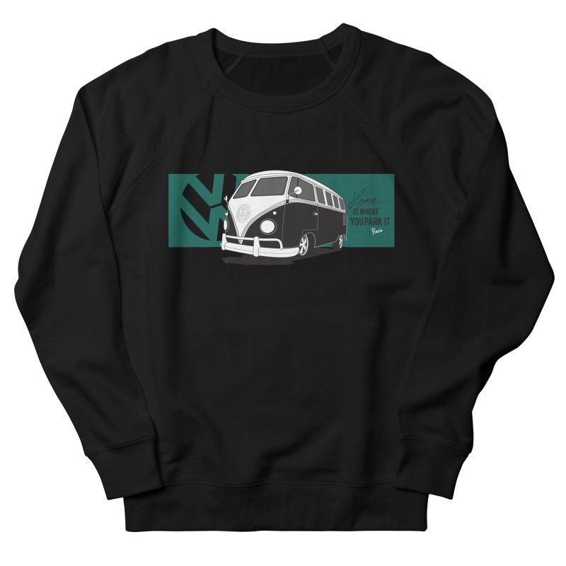 Home Is Where You Park It Men's Sweatshirt by Andrea Pacini