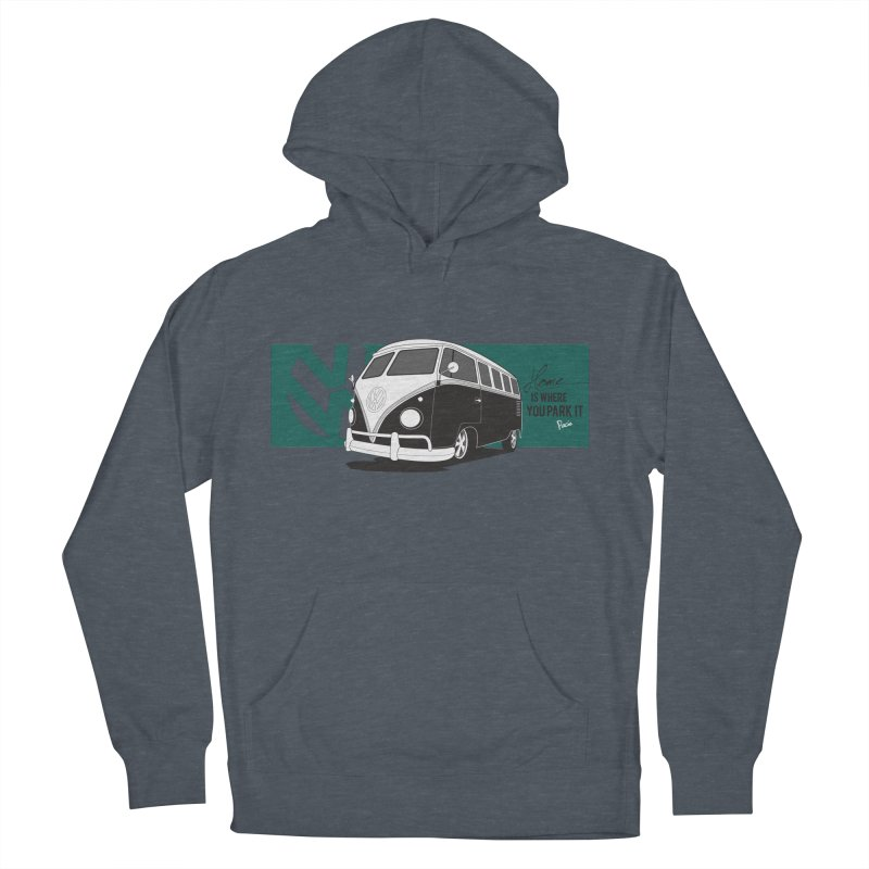 Home Is Where You Park It Men's Pullover Hoody by Andrea Pacini