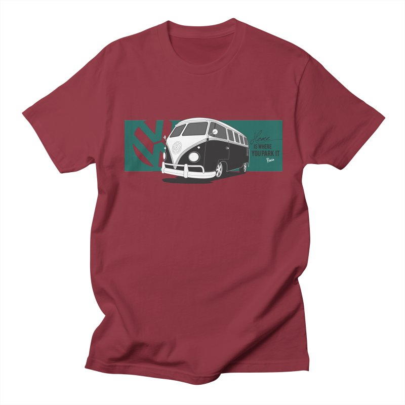 Home Is Where You Park It Women's Unisex T-Shirt by Andrea Pacini