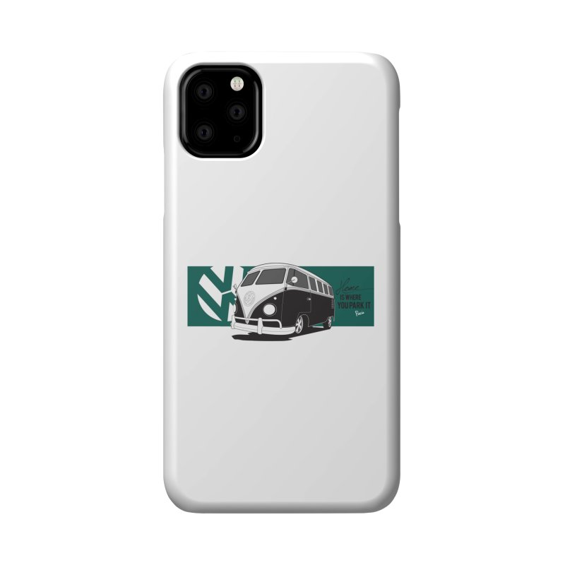 Home Is Where You Park It Accessories Phone Case by Andrea Pacini