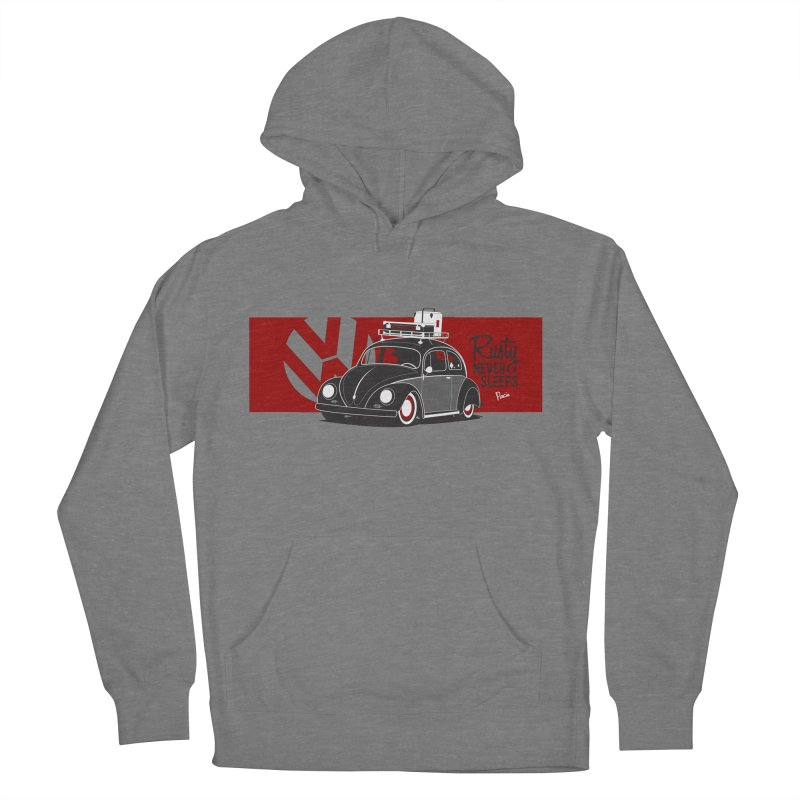 Rusty Never Sleeps Women's Pullover Hoody by Andrea Pacini
