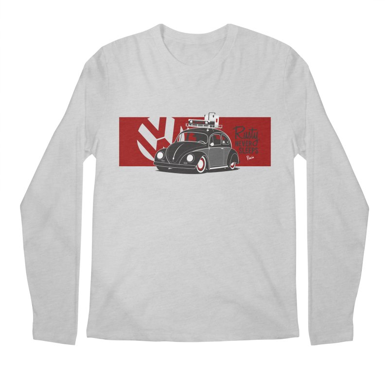 Rusty Never Sleeps Men's Longsleeve T-Shirt by Andrea Pacini