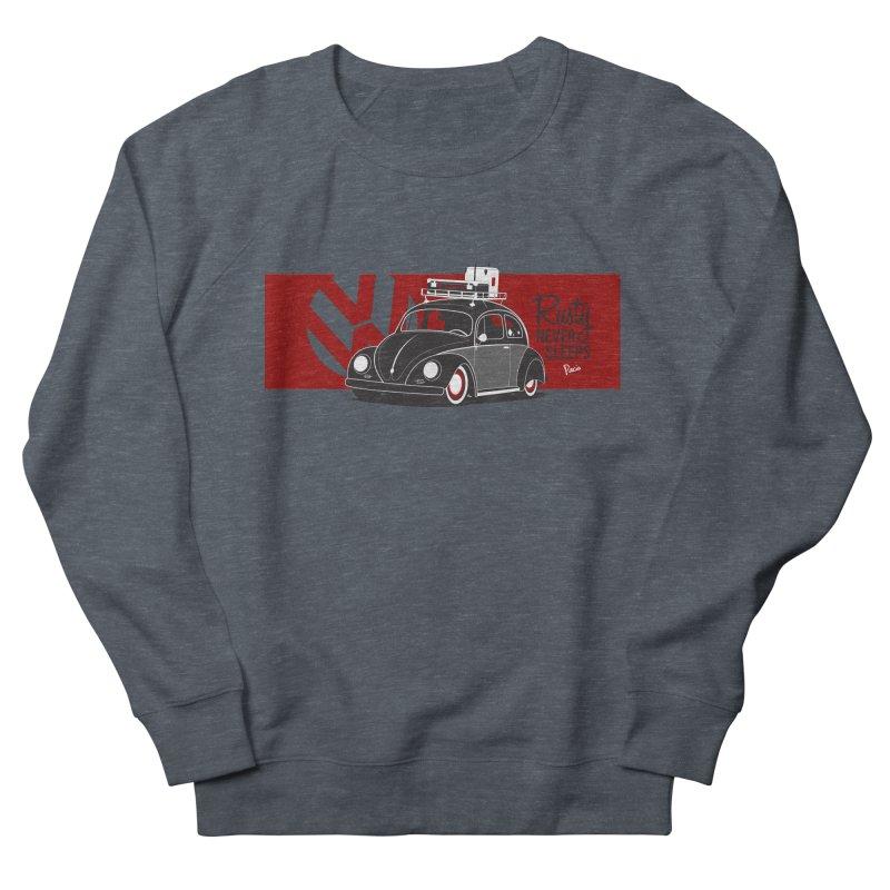 Rusty Never Sleeps Men's French Terry Sweatshirt by Andrea Pacini