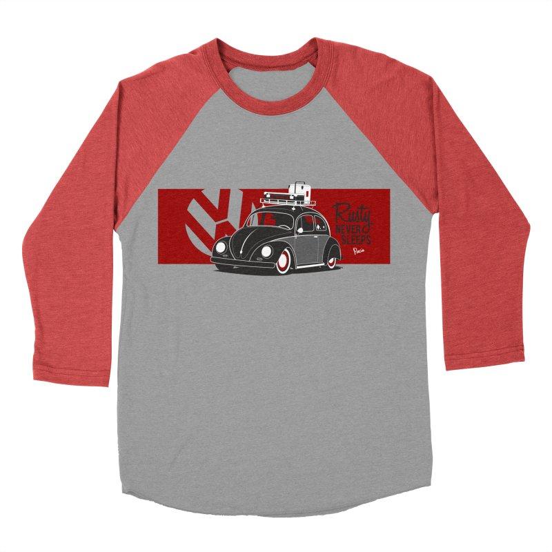 Rusty Never Sleeps Women's Baseball Triblend Longsleeve T-Shirt by Andrea Pacini
