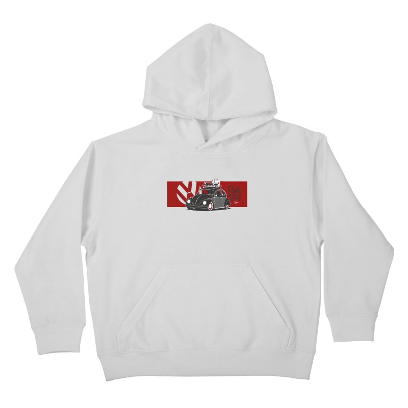 Rusty Never Sleeps Kids Pullover Hoody by Andrea Pacini